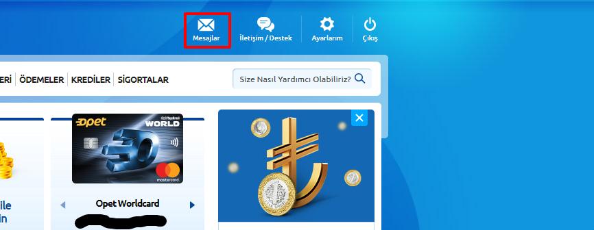 Worldcard Hesap Özetini E-posta ile Nasıl alabilirim?  Worldcard  E-ekstre Talimatı Nasıl Verilir ?